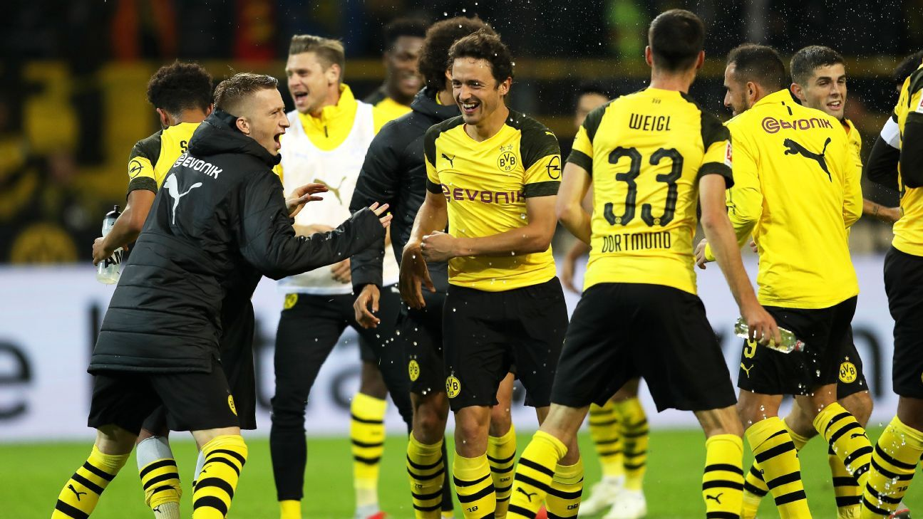 Borussia Dortmund have a chance to move to the top of the league following Bayern Munich's struggles this week.