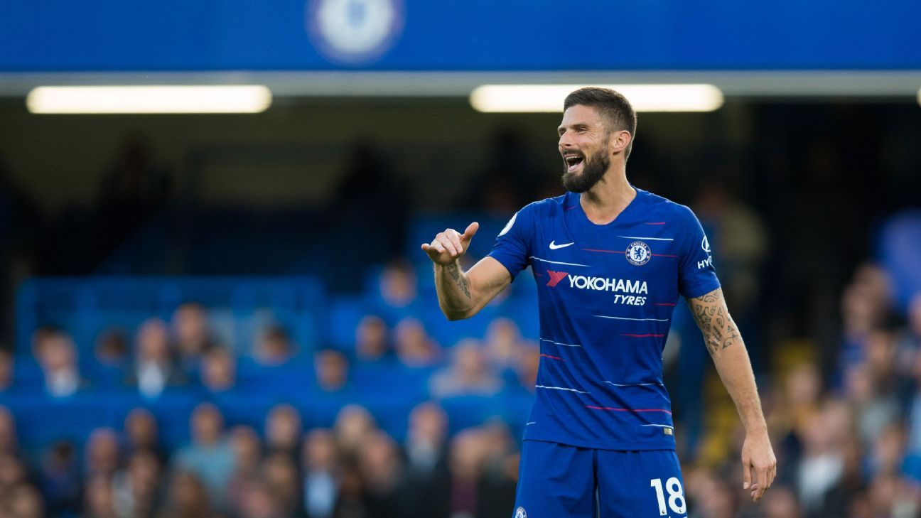 Chelsea need either Olivier Giroud or Alvaro Morata to step up and contribute goals.