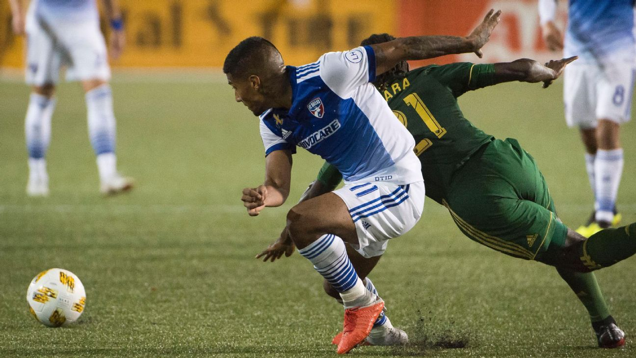 FC Dallas clinches playoffs berth with scoreless draw in Portland