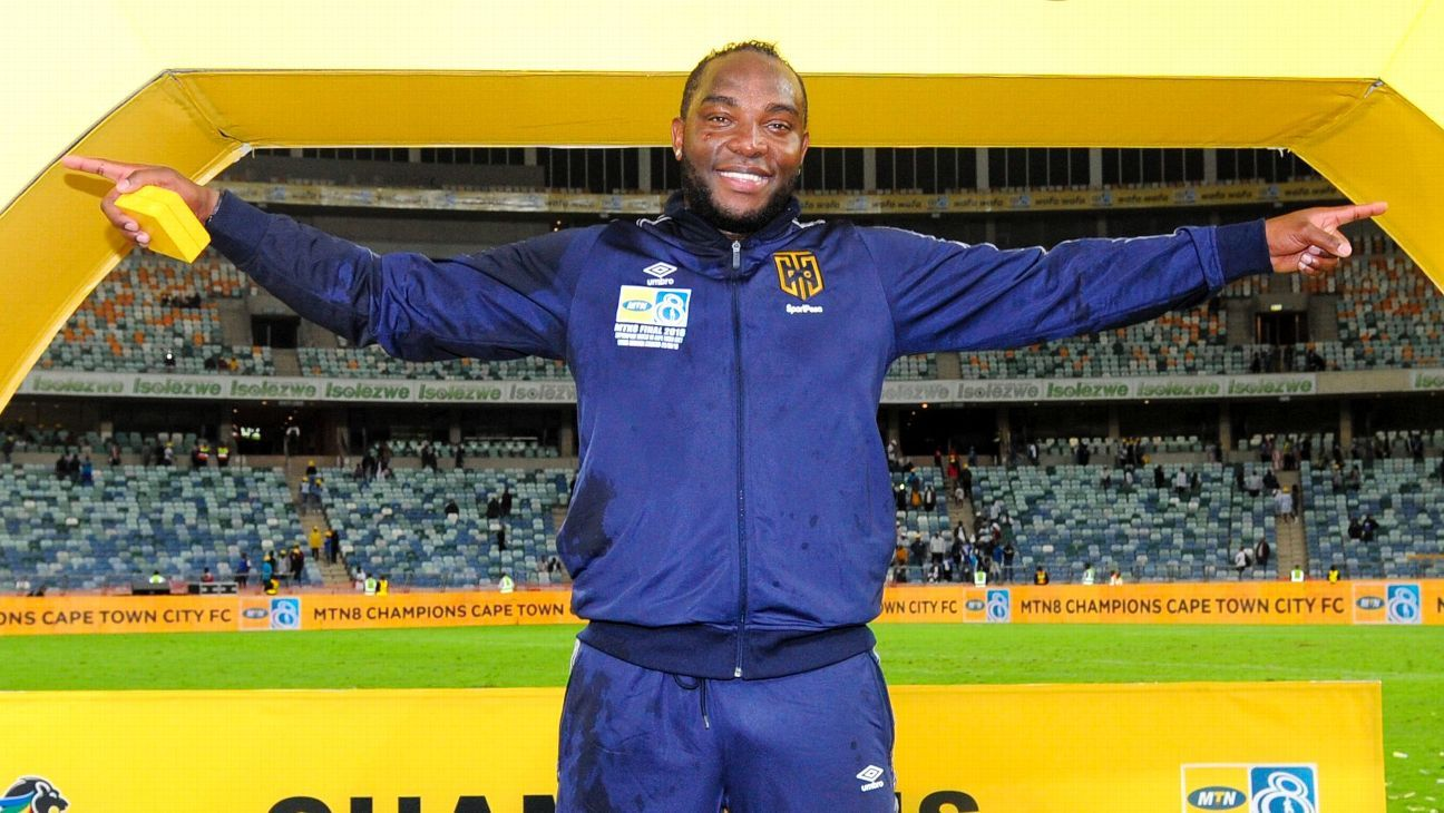Benedict McCarthy claimed his first honour as a head coach when Cape Town City beat SuperSport United to win the 2018 MTN8