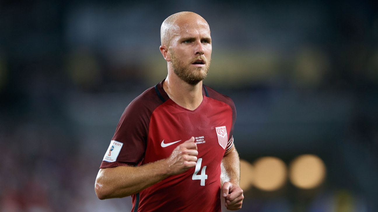 Michael Bradley, 31, is back with the USMNT for the first time since the defeat to Trinidad and Tobago.