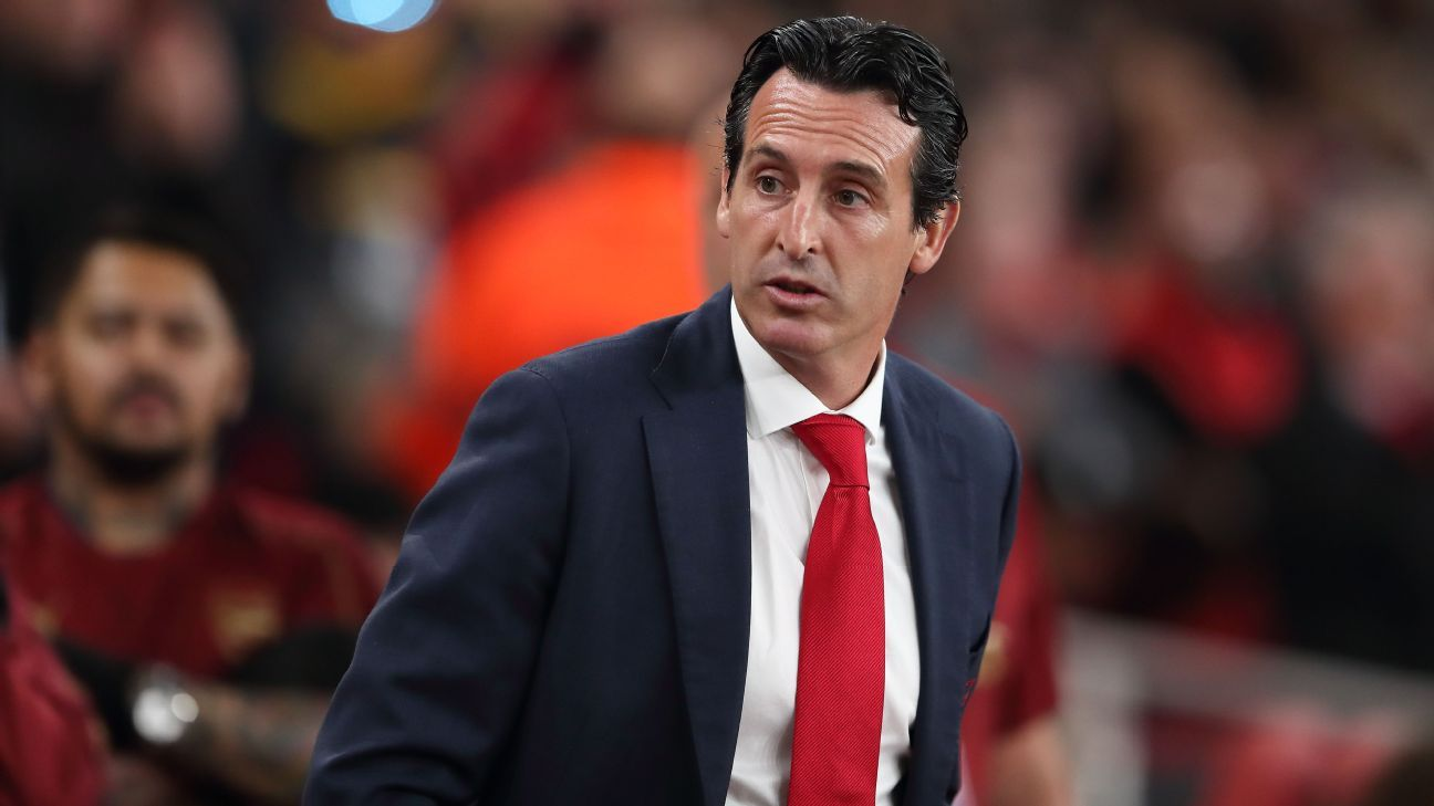 Unai Emery has led Arsenal to a seven-game winning streak.