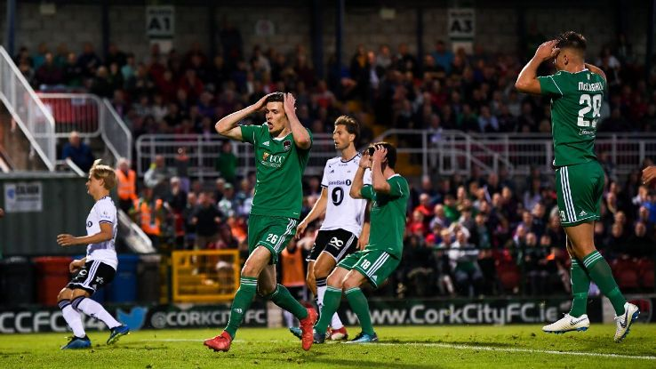 Think you'll ever see Cork City, in green, or Rosenborg, in white, win the Champions League? Of course not.