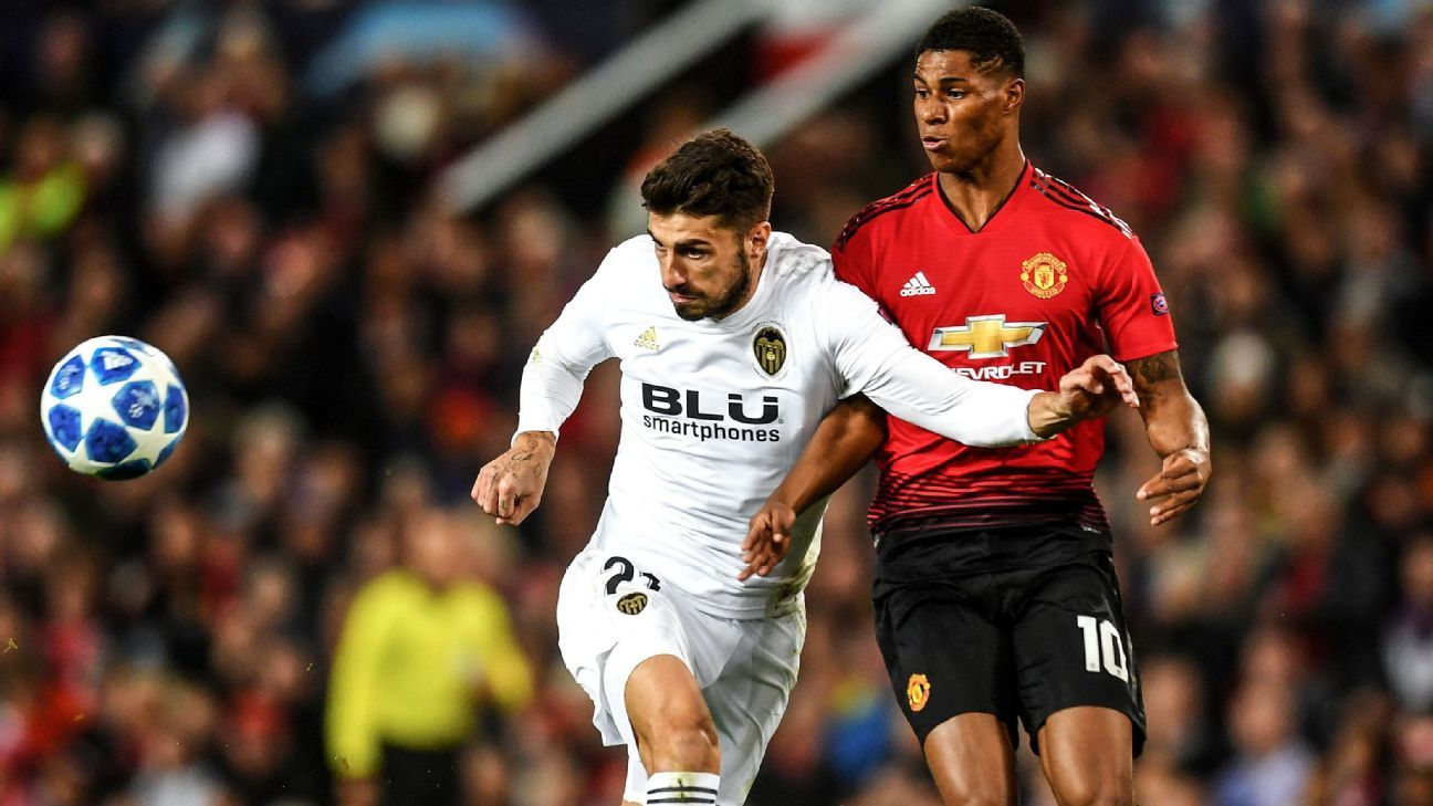 Valencia didn't create many chances but then again, neither did Man United.