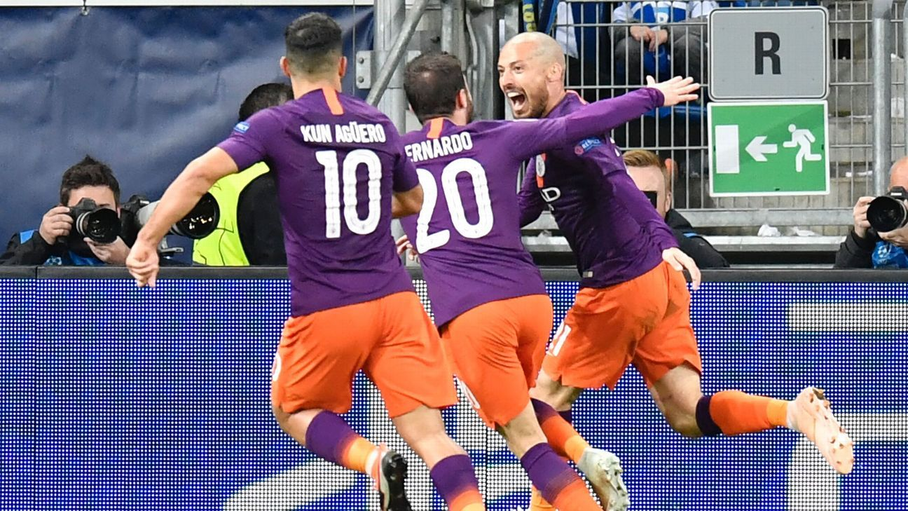 David Silva snuck in to score a late winner and get Man City's European campaign back on track.