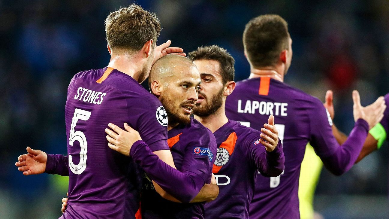 David Silva and Manchester City are at the top of the Premier League going into this weekend's action, but only two points separate five teams from the summit.