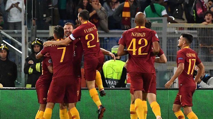 Roma got the ball rolling quickly against Viktoria Plzen, Edin Dzeko scoring after just three minutes.