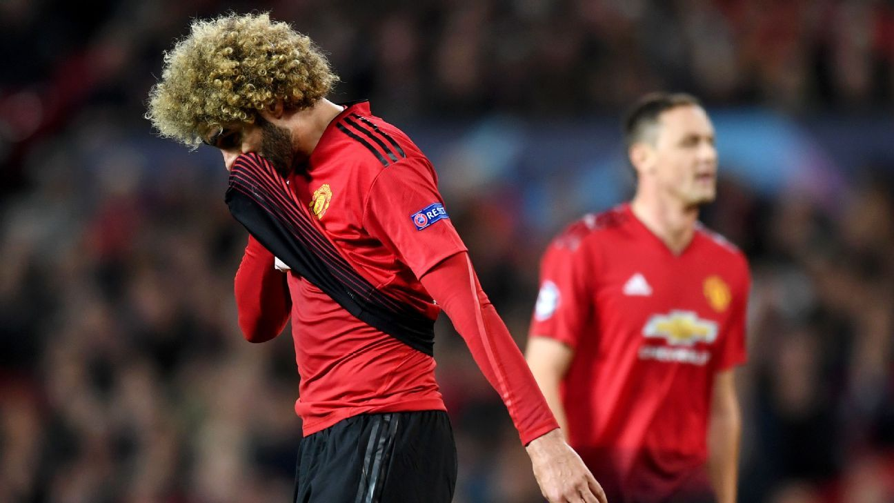 Fellaini and Man United didn't lose but they were frustrated by a dogged Valencia side at Old Trafford.