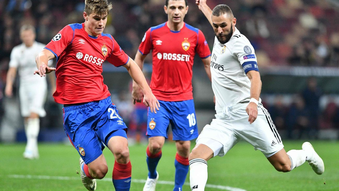 Karim Benzema's scoreless streak for Real Madrid now extends to six matches.