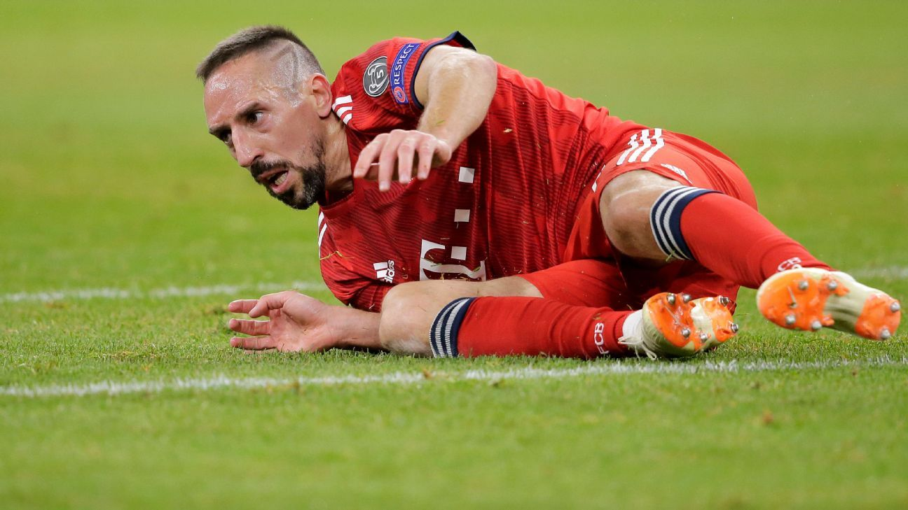 Bayern Munich's Franck Ribery cut a frustrated figure in Bayern's 1-1 draw with Ajax on Tuesday.