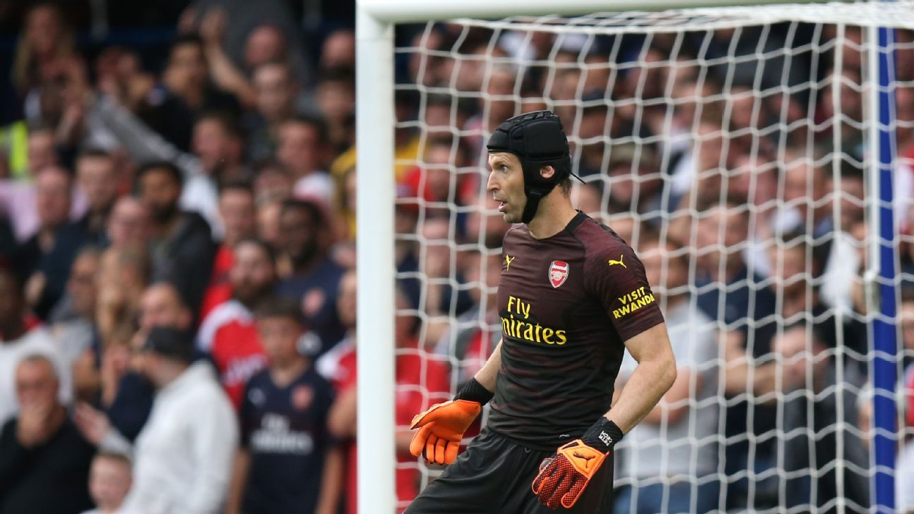 Despite Petr Cech's early wobbles with the ball at his feet, Unai Emery remains insistent on playing out from the back at Arsenal.
