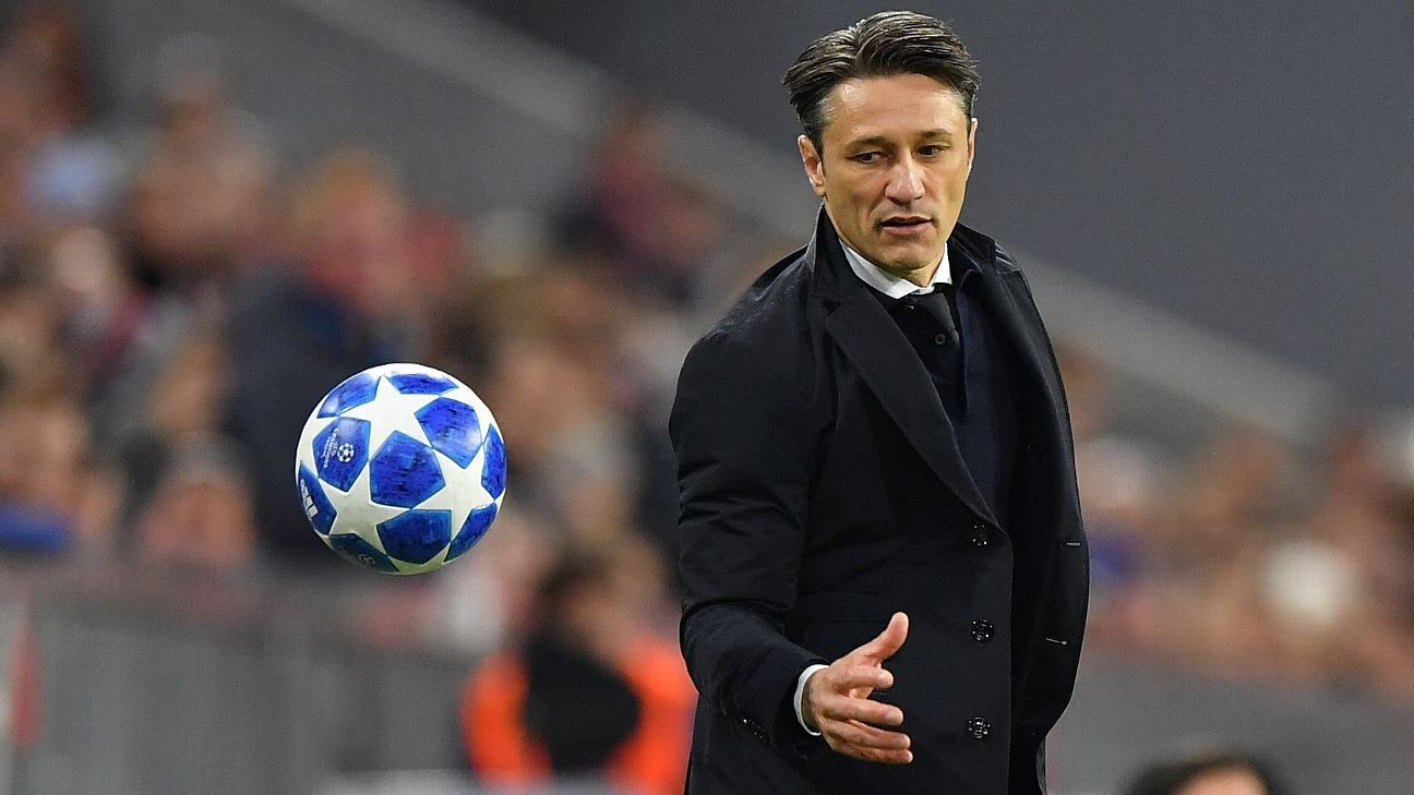 Niko Kovac is under increasing pressure at Bayern Munich.