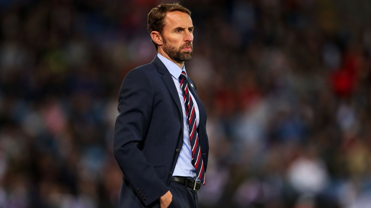 Gareth Southgate during the international friendly between England and Switzerland.