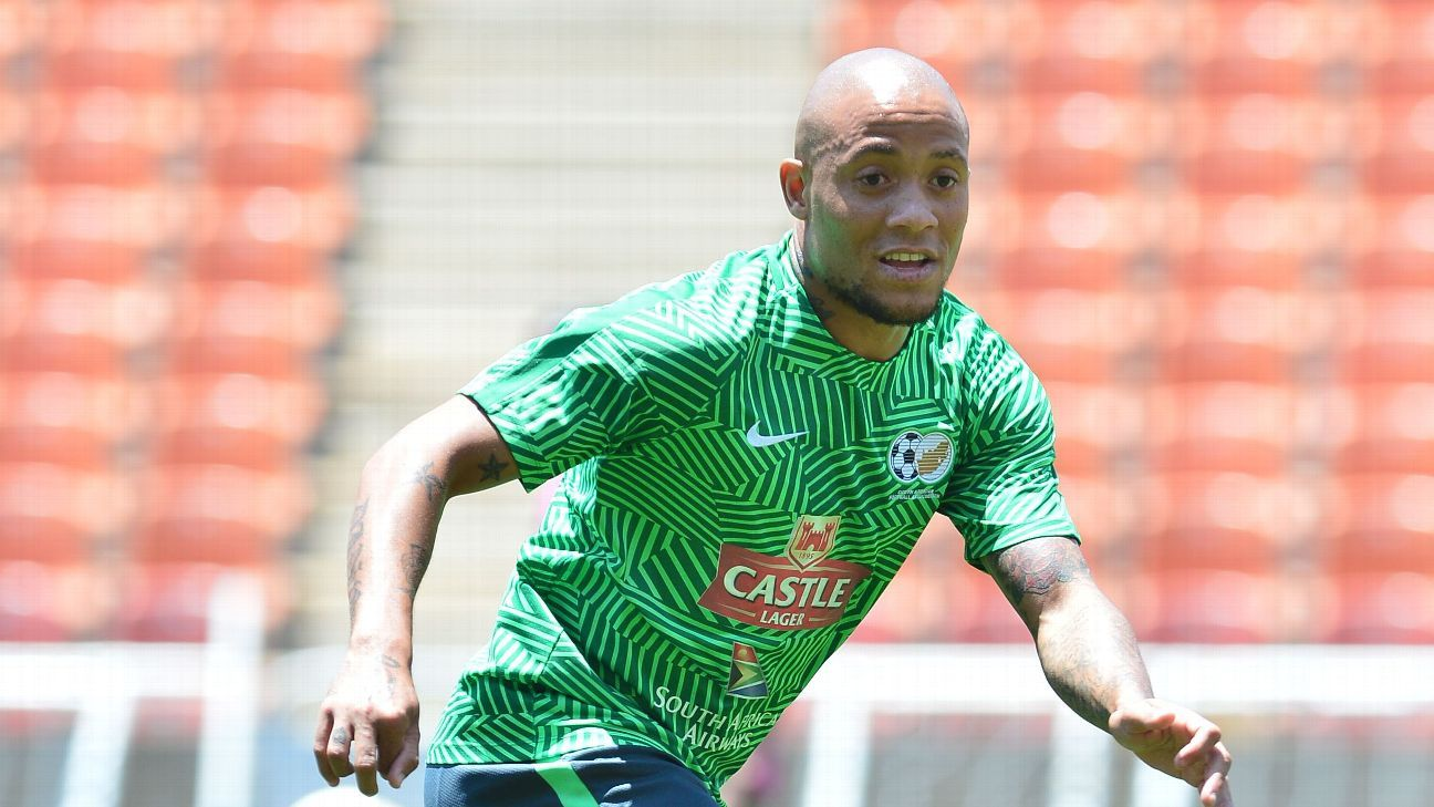 Dino Ndlovu is likely to start against Seychelles