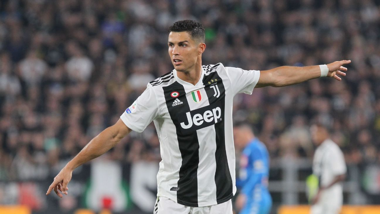 Juventus' Cristiano Ronaldo is looking to defend his Ballon d'Or title.