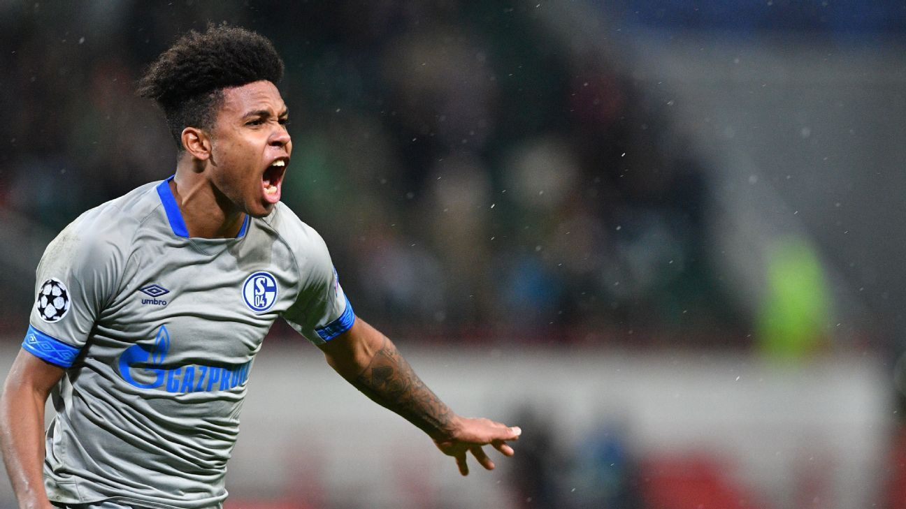 Schalke's American midfielder Weston McKennie was the hero vs. Lokomotiv Moscow with an 88th-minute winner.