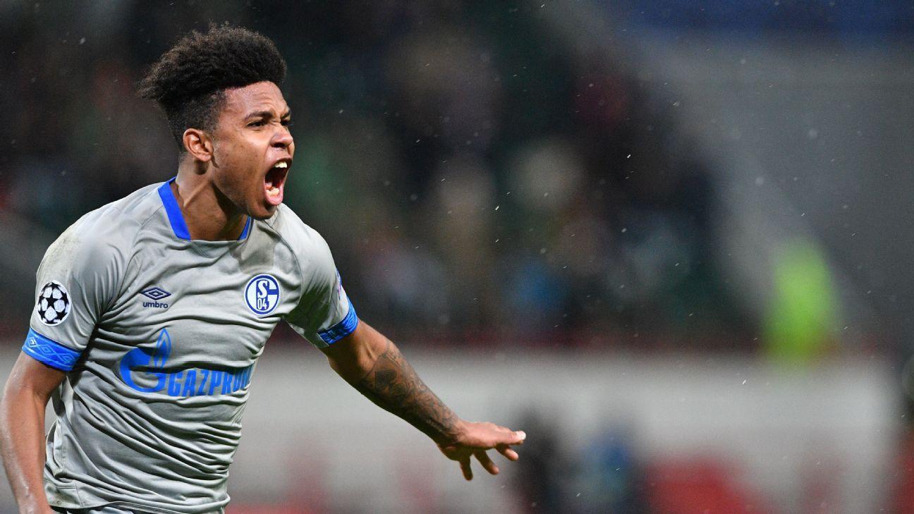Schalke's American midfielder Weston McKennie was the hero vs. Lokomotiv Moscow with an 88th-minute winner.