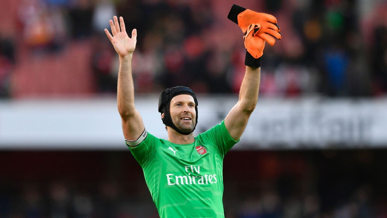 It's a shame but we won't see Petr Cech in a helmet during your next round of transfer negotiations.