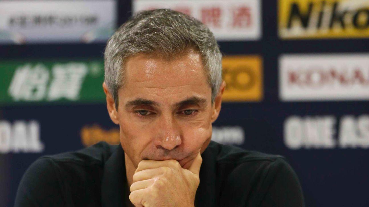 Paulo Sousa has left Tianjin Quanjian.