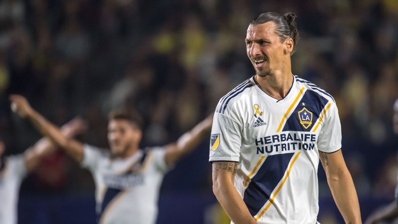 Los Angeles Galaxy's Zlatan Ibrahimovic