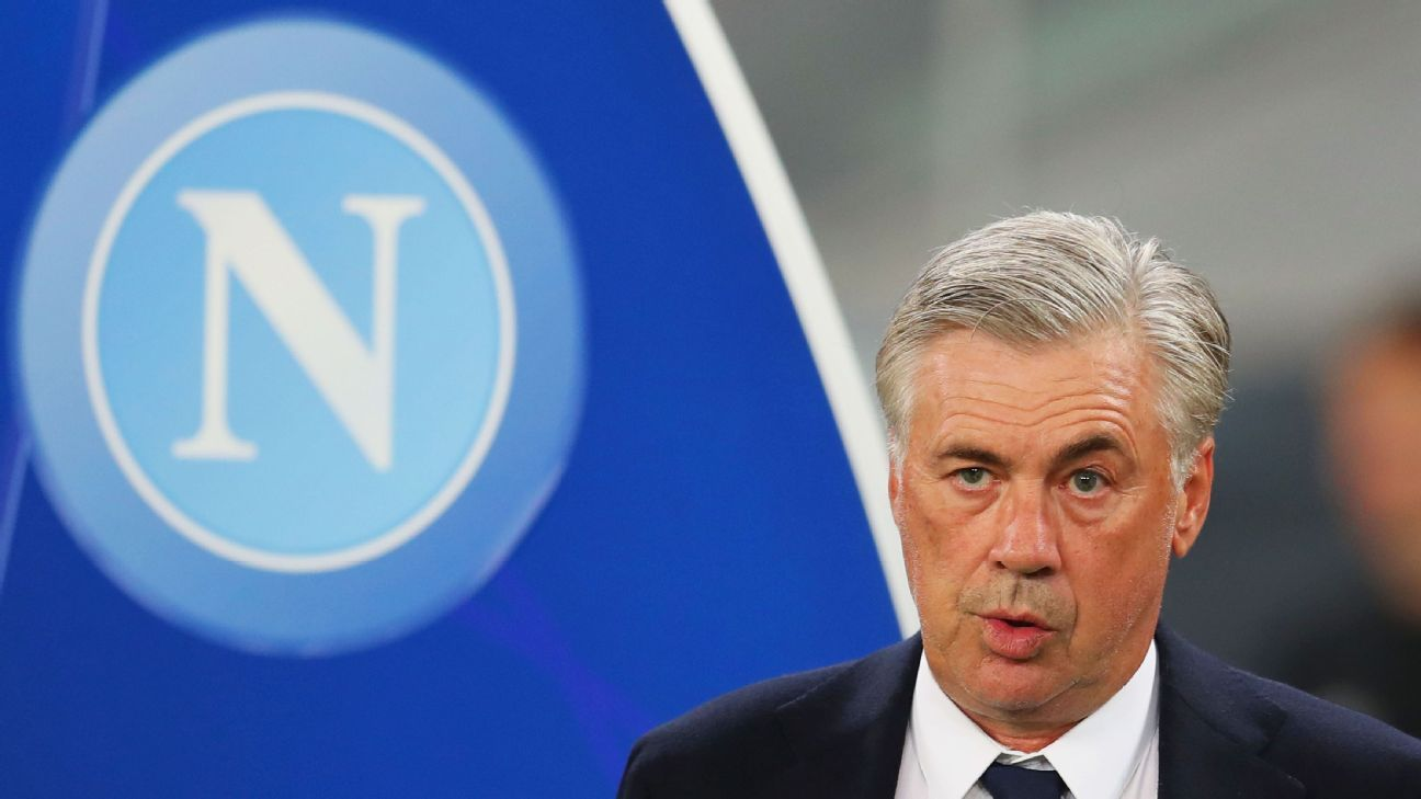 Carlo Ancelotti is starting to impress as Napoli manager.