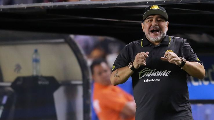 Maradona's enjoying his time in Mexico so far, finding the comforts of home in Culiacan.
