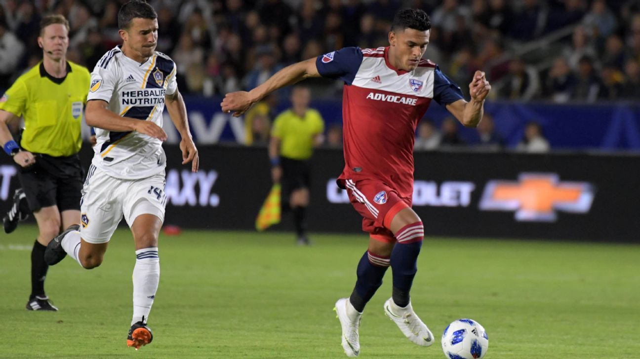 Cristian Colman had been a key part of FC Dallas' pursuit of a Western Conference title.