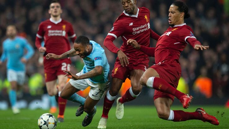 Virgil van Dijk, right, has transformed Liverpool's defence and given them a solid platform upon which to build attacks.
