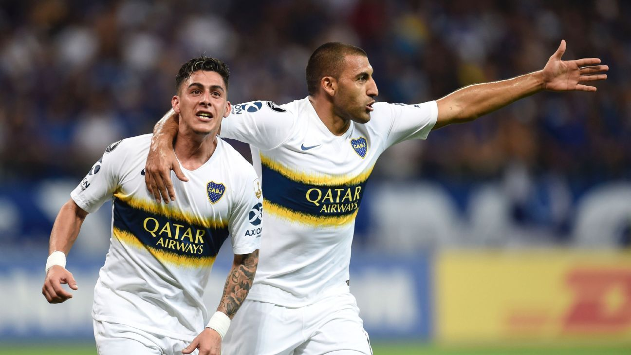 Boca Juniors are headed to the semifinals of the Copa Libertadores after beating Cruzeiro 3-1 on aggregate.
