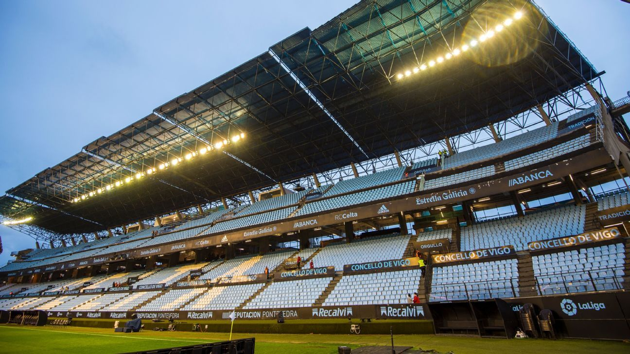 Carlos Mourino has said he fears Celta Vigo could lose points because the floodlighting at their Balaidos stadium does not meet requirements.
