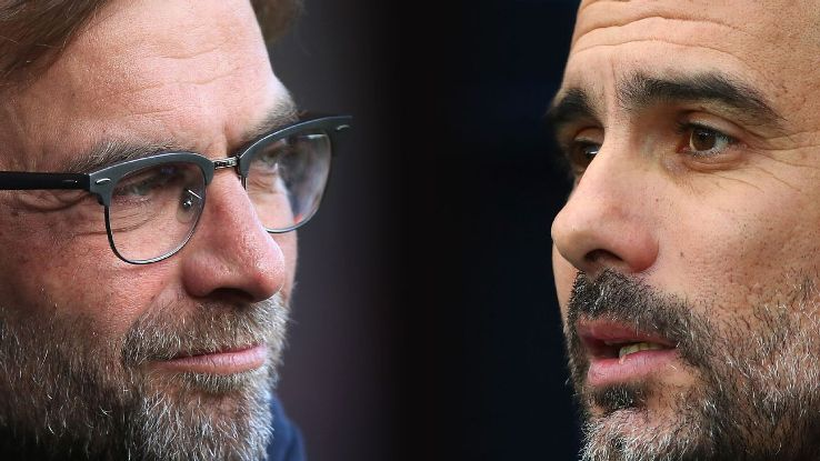Jurgen Klopp and Pep Guardiola have faced each other on 14 previous occasions, with the Liverpool manager Klopp winning seven encounters.