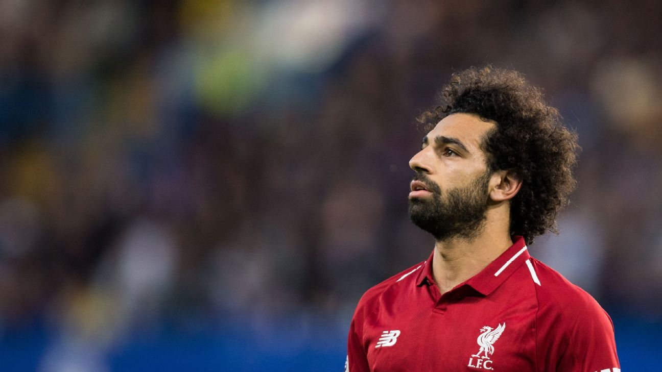 Searching for goals: Mo Salah has yet to find his form this season. But will that be enough of a weakness for City to win at Anfield for the first time since 2003?