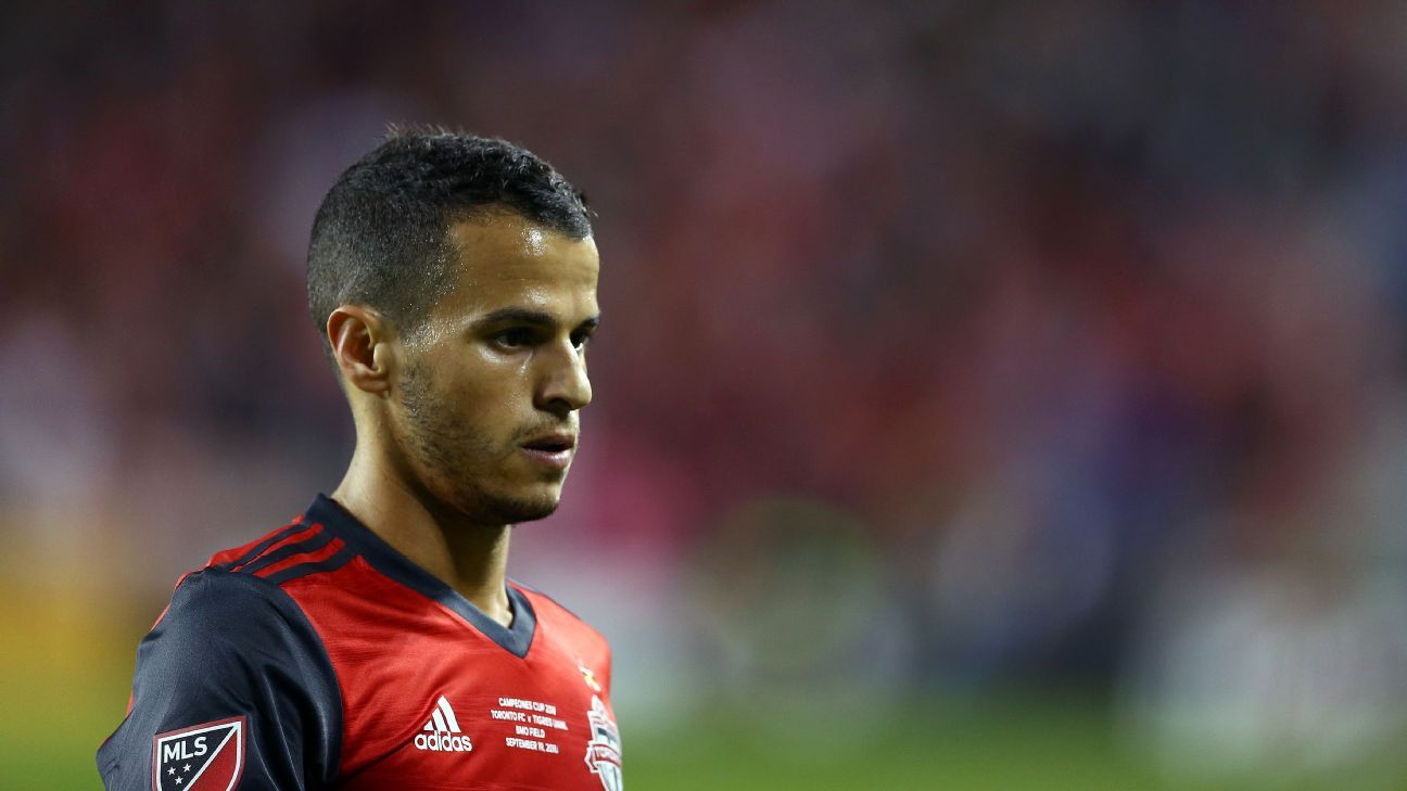 Sebastian Giovinco moved to MLS in 2015.