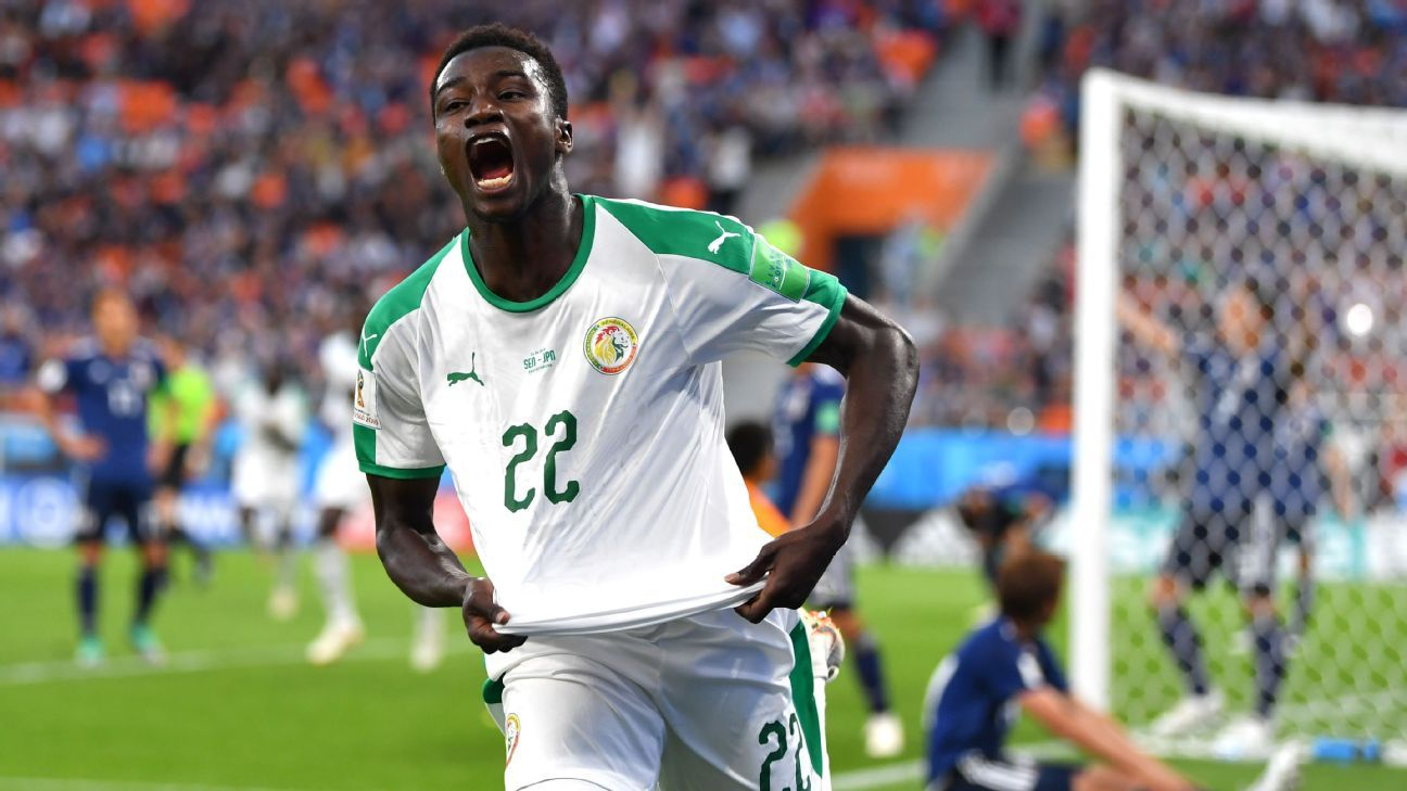 Senegal's Moussa Wague