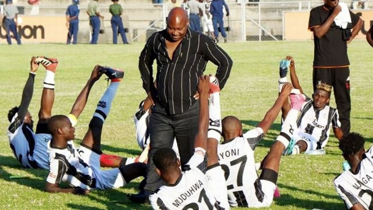 Ndlovu Madinda of Highlanders watches on