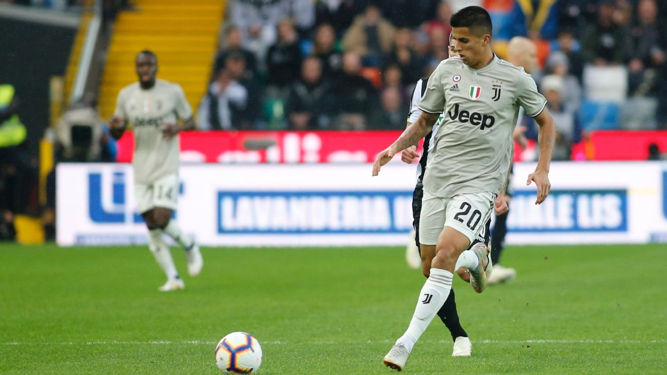 Joao Cancelo was effective at both ends as Juventus won at Udinese,