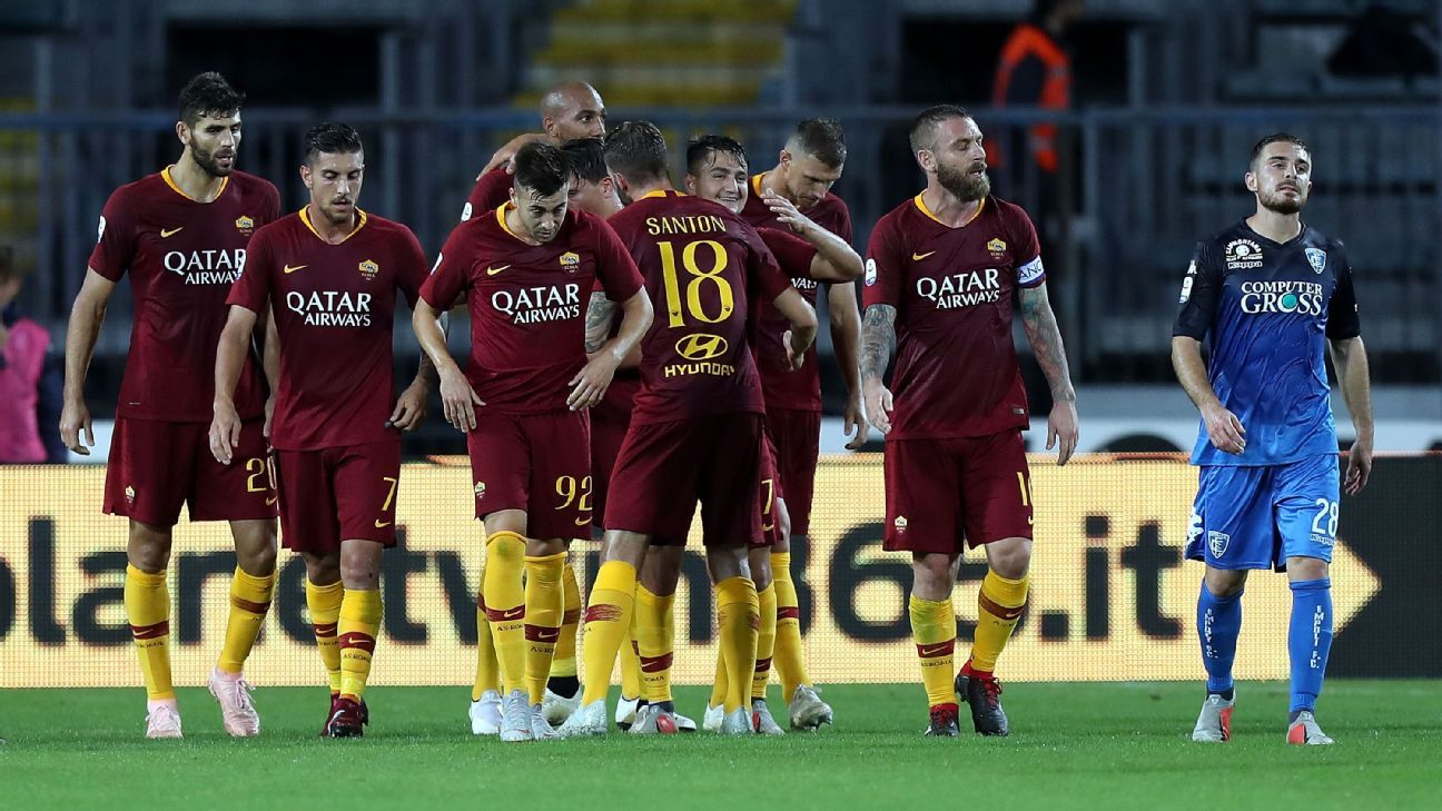 Roma have scored 14 goals in their last four games in all competitions.