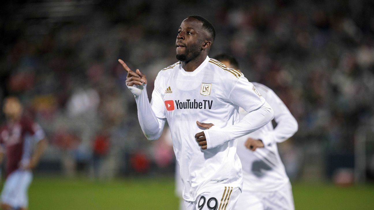 Adama Diomande hits brace to send LAFC past Colorado Rapids, clinch playoff berth