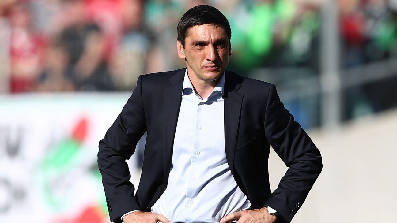 Tayfun Korkut has been sacked by Stuttgart