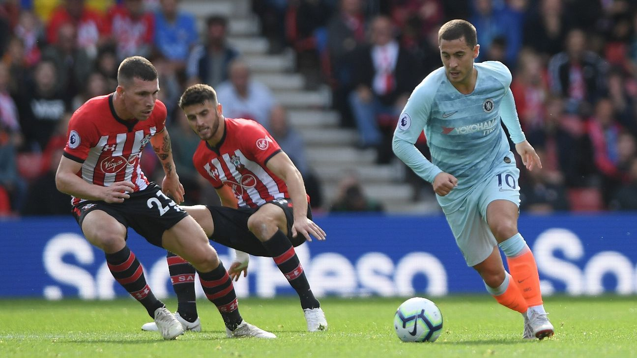 Hazard was sensational for Chelsea at Southampton, scoring one and setting up another in the 3-0 win.