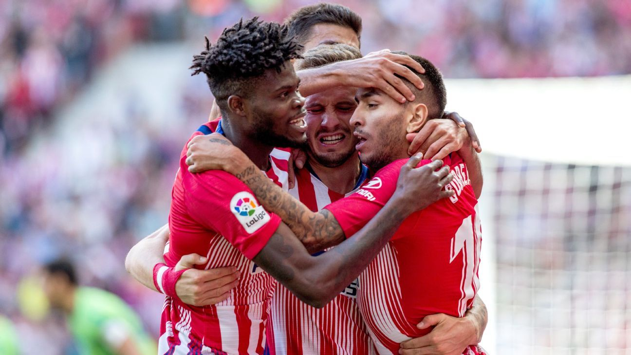 Atletico Madrid are in ascendant form.