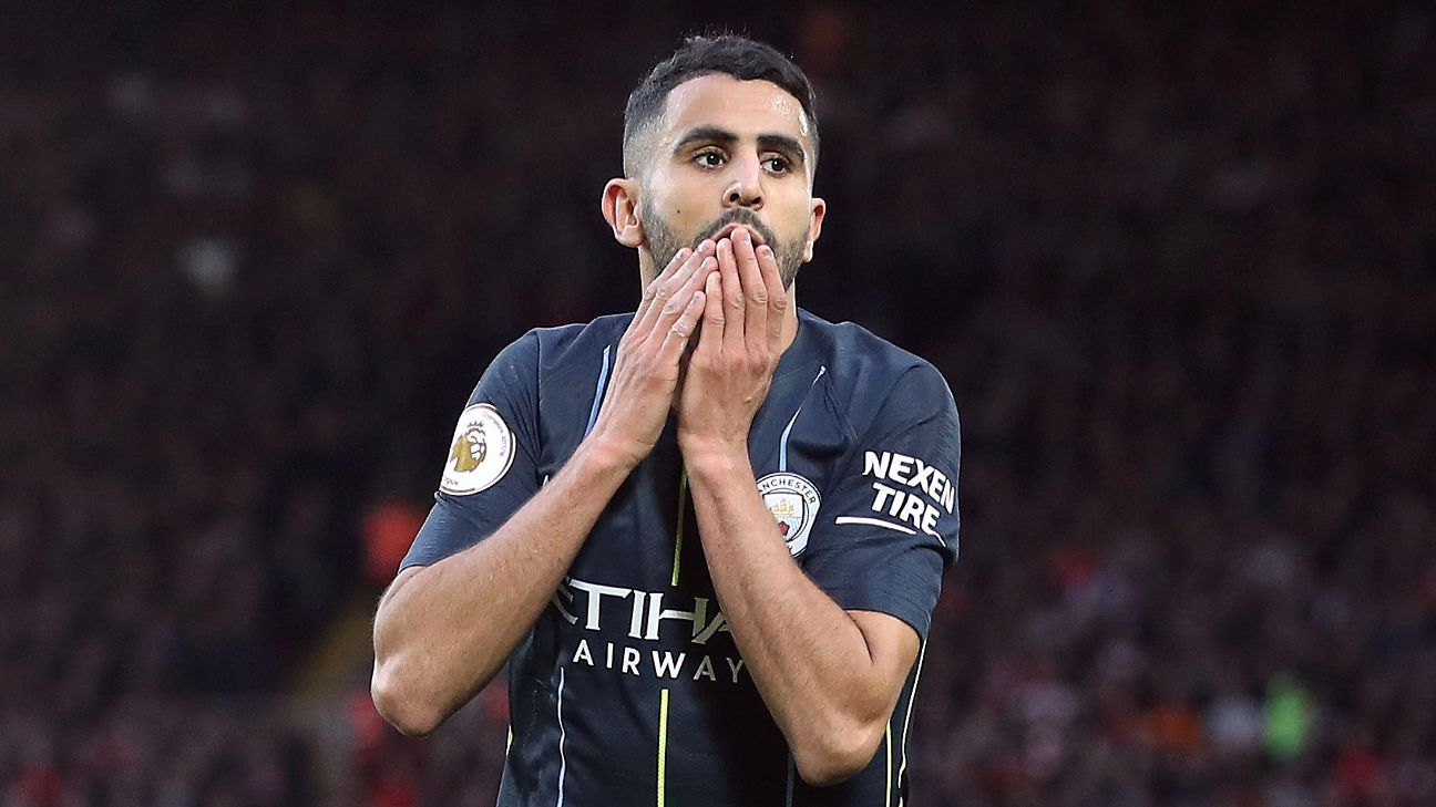 Mahrez will come to rue his penalty miss at Anfield as Man City missed their chance to win at Liverpool for the first time since 2003.