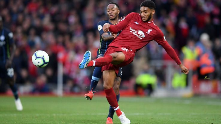 Gomez more than held his own against Sterling on the flank as he showed he can still play full-back as well as central defence.