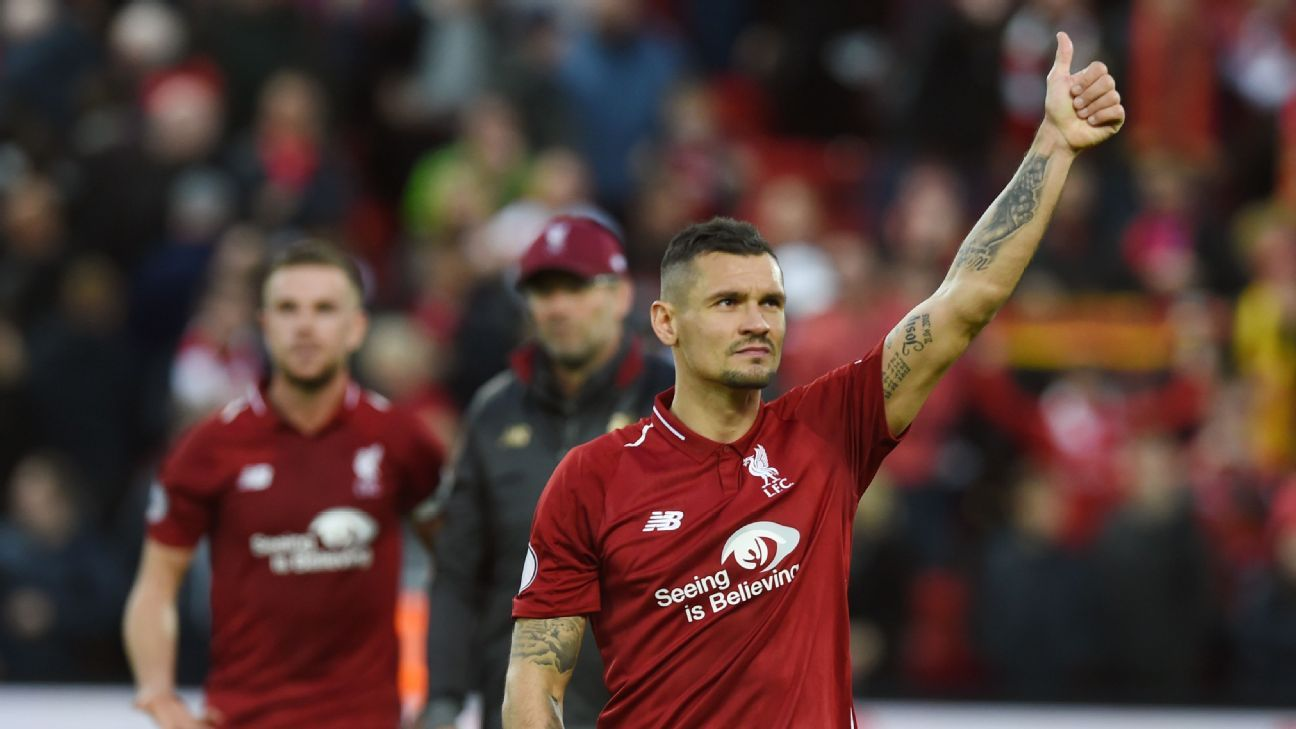 Lovren's been a bit of a punchline when it comes to his performances for Liverpool but he was controlled and imposing in Sunday's draw with Man City.