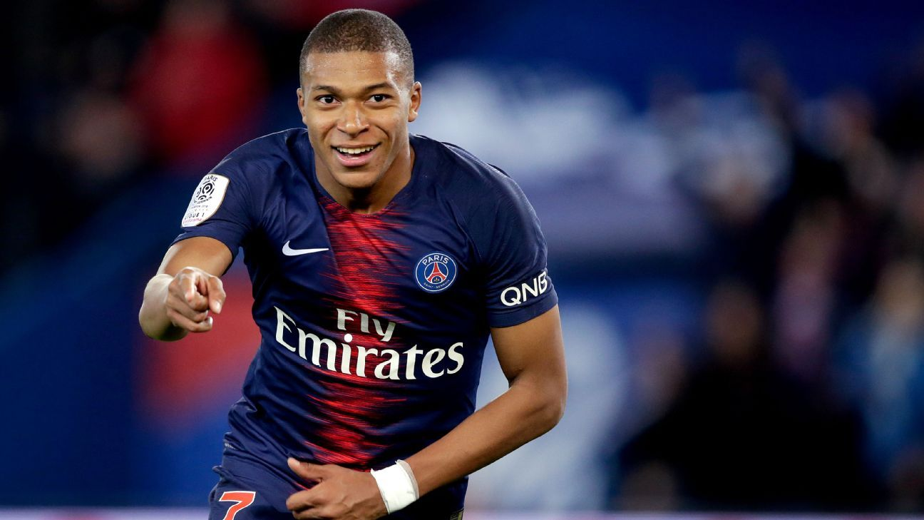 Kylian Mbappe scored four goals vs. Lyon but amazingly, he rarely hit top gear.