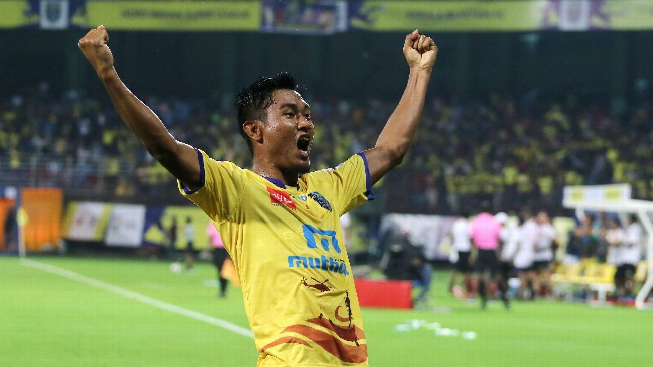 Halicharan Narzary of Kerala Blasters