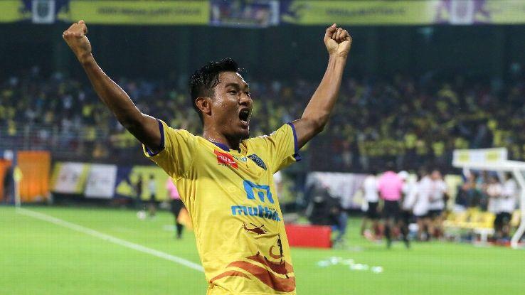 Halicharan Narzary of Kerala Blasters