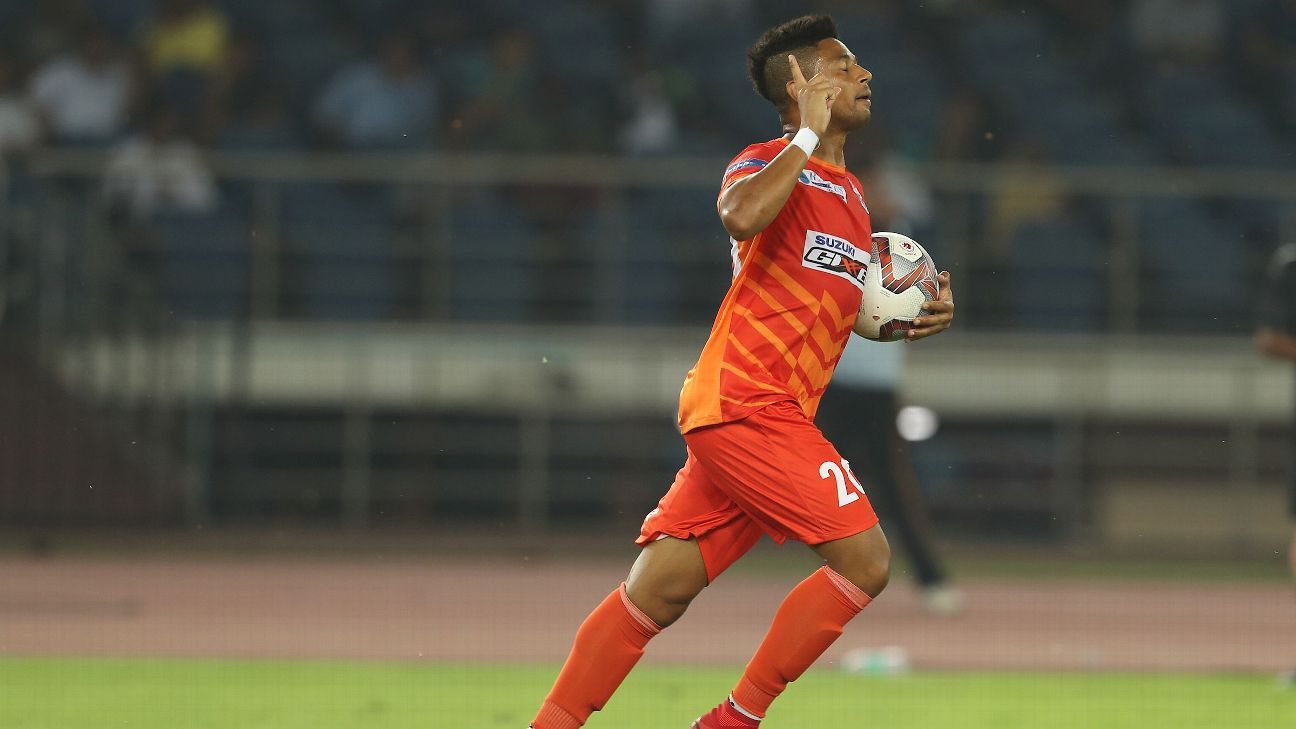 Diego Carlos of FC Pune City