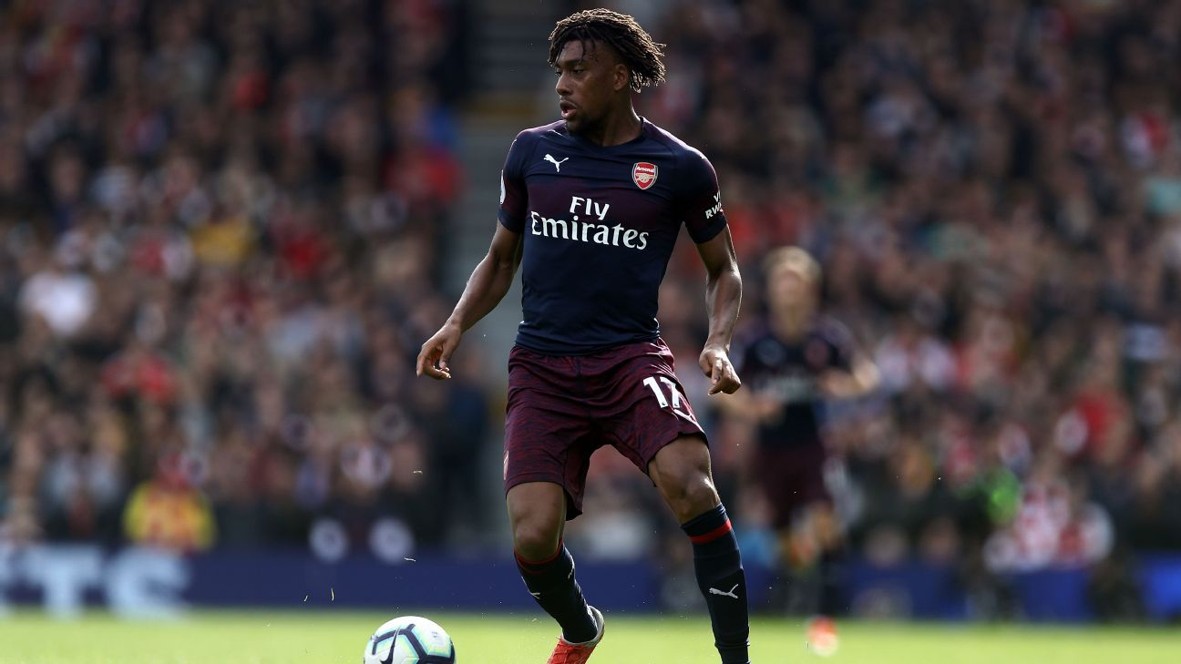 In his first Premier League start since August, Alex Iwobi was a key part of Arsenal's fine win at Fulham.