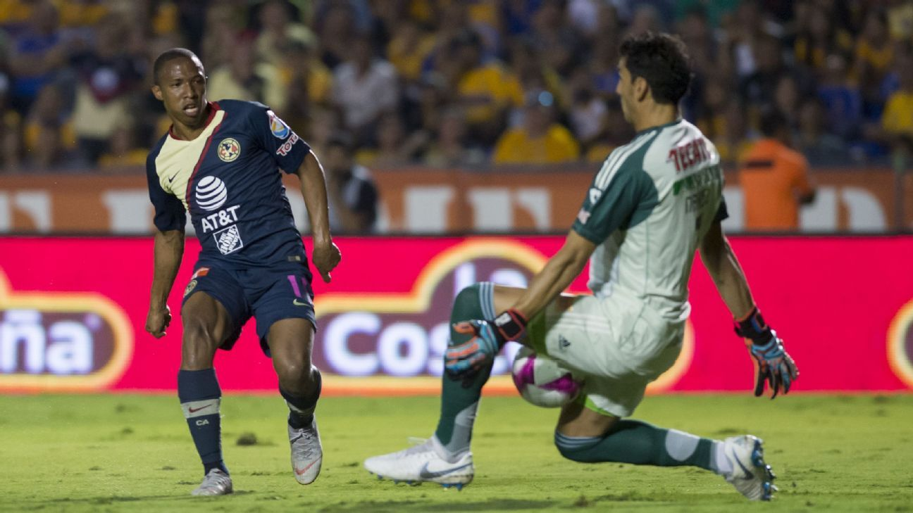 Andres Ibarguen and Club America grabbed a big win over Tigres UANL, their first road victory at Estadio Universitario since 2014.